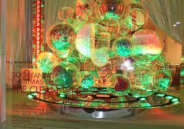 eco friendly christmas tree christmas lights decoration
