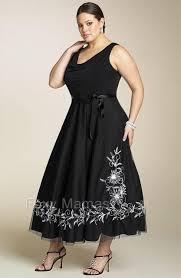foxymama plus sze black embroidered 3 4l cocktail dress sizes 16