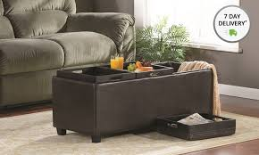 Simpli Home Avalon Storage Ottoman Simpli Home Avalon Storage Ottoman Avalon Storage Ottoman With 3