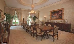 Candy Spellings M Mansion Finally Sells To Formula One - Mansion dining room