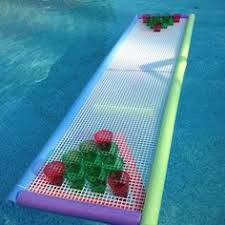 build a beer pong table floating beer pong table 12 sheet of lattice 3 dollar store pool