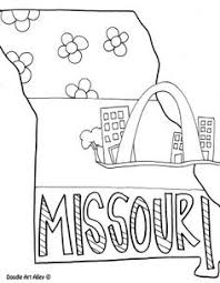 missouri map coloring pages new jersey coloring page by doodle alley usa coloring pages