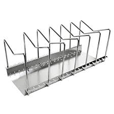Kitchen Cabinet Dish Rack Amazon Com Kes Stainless Steel Dish Rack Kitchen Pot Pan Lid