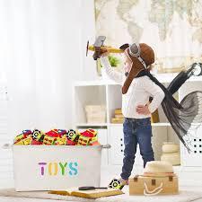 Large Basket For Storing Throw Pillows Amazon Com Organizerlogic Toy Storage Baskets 20