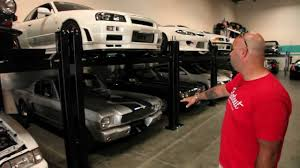 Cool Car Garages by Paul Walker U0027s Car Amazing Collection Video Http Www