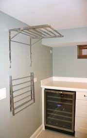 Laundry Room Storage Shelves Laundry Room Drying Rack Ideas Wowruler