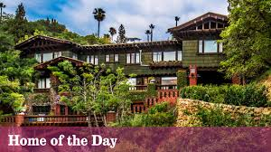 Craftsman House For Sale by The King Of Craftsmans Surveys The City From A Perch In Hollywood