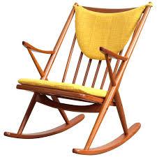 Danish Chairs Uk Teak Rocking Chairs Frank Danish Modern Teak Rocking Chair 1 Teak