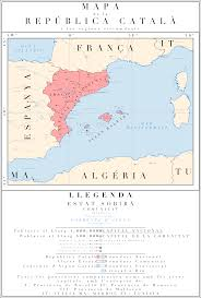 Catalonia Spain Map by A Future Catalonia By Houseofhesse On Deviantart