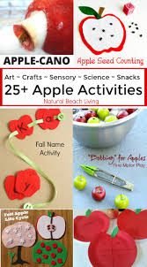 25 awesome apple activities for kids natural beach living