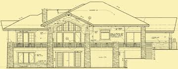 ranch style floor plans ranch style craftsman plans 1 or 4 bedroom mountain home