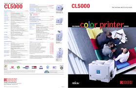 download free pdf for ricoh aficio cl5000 printer manual