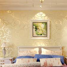 White Rose Bedroom Wallpaper Online Buy Wholesale Gold Rose Wallpaper From China Gold Rose