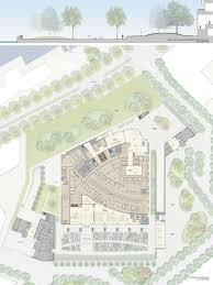 Embassy Floor Plan by London Embassy Compound Competition Pei Cobb Freed U0026 Partners