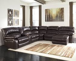 signature design by ashley damacio dark brown reclining