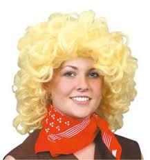 Fancy Dress Wig Dolly Parton Blonde Amazon Co Uk Toys U0026 Games