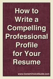 how to write a good resume clarks resume writing format and