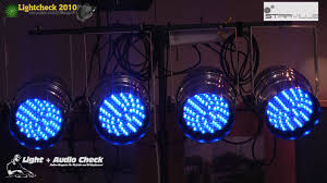 video check stairville led par 64 10mm rgb youtube