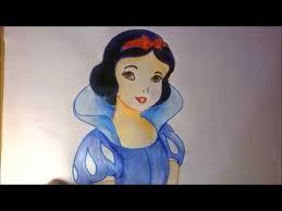 draw snow white easy draw disney princess snow
