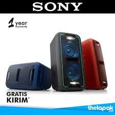 sony high powered bluetooth light up speaker gtk xb5 jual speaker bluetooth high power portable audio sony gtk xb7