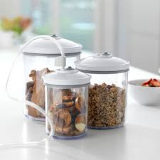 foodsaver round canister set 3 piece t02 0052 01p foodsaver