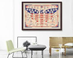 Map Home Decor Military Map Etsy