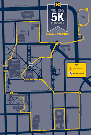 Maps Michigan Login by University Of Michigan Victors 5k Run Walk University Of Michigan