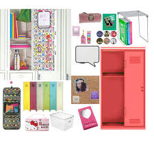 Tip 02 Locker Decorating and Organization Polyvore