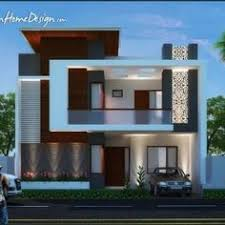 house elevation decorative house plan by sk consultants villas pinterest