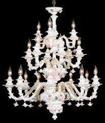 Italian Porcelain Chandelier Capodimonte Chandelier Foter