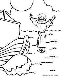 jesus the good shepherd coloring pages jesus walks on water coloring page crafting the word of god
