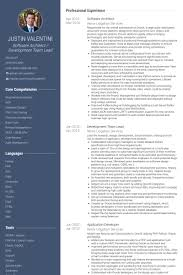 Competency Based Resume Sample by Software Architect Resume Samples Visualcv Resume Samples Database