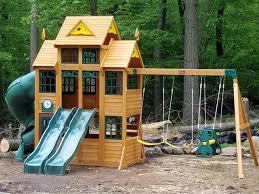 big backyard playsets backyard and garden ideas