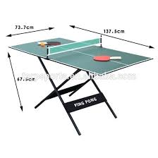 ping pong table dimensions inches ping pong table dimensions mextextrio com
