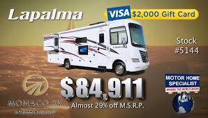 new monaco lapalma 79 911 mhsrv com review of 2012 rv for sale