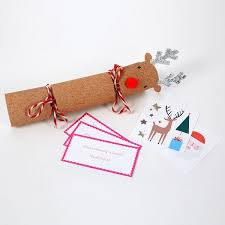 christmas crackers 6 rudolf reindeer christmas crackers pipii
