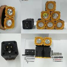 2 inch led spot light inch cree 10w pods led spot light flood light moudular assembly