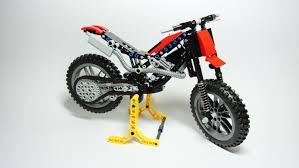 trial motorcycle lego technic toy updated version youtube