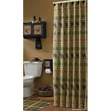 Adirondack Shower Curtain by Amazon Com Carstens Adirondack Shower Curtain Home U0026 Kitchen