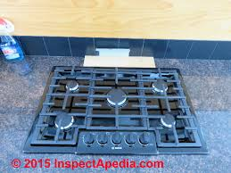 Gas Countertop Range Kitchen Cooktops How To Install A Gas Cooktop Into A Countertop