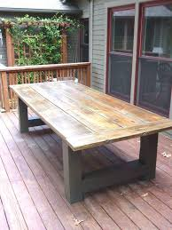 Outdoor Wood Patio Furniture Design Best 25 Outdoor Tables Ideas On Pinterest Of Diy Wood Patio