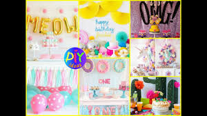 Diy Birthday Party Theme Ideas 50 Birthday Party Themes For Girls Diy Birthday Party Decor
