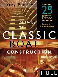 details of classic boat construction 25th anniversary edition