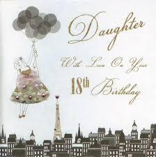 mojolondon daughter 18th birthday card by five dollar shake