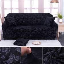 couverture de canapé mode épaissie velours jacquard housse de canapé pleine couverture