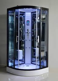 Steam Shower Bathtub Black Glass Steam Shower Bath Cabin 1000 1000 With Computer Control