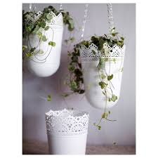 skurar plant pot in outdoor off white 12 cm ikea