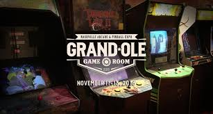 grand ole gameroom expo franklin tn arcade pinball expo