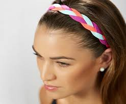 braided headbands online shop softball baseball sports braided headbands sweat