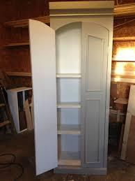 ballard designs knock off pantry cabinet